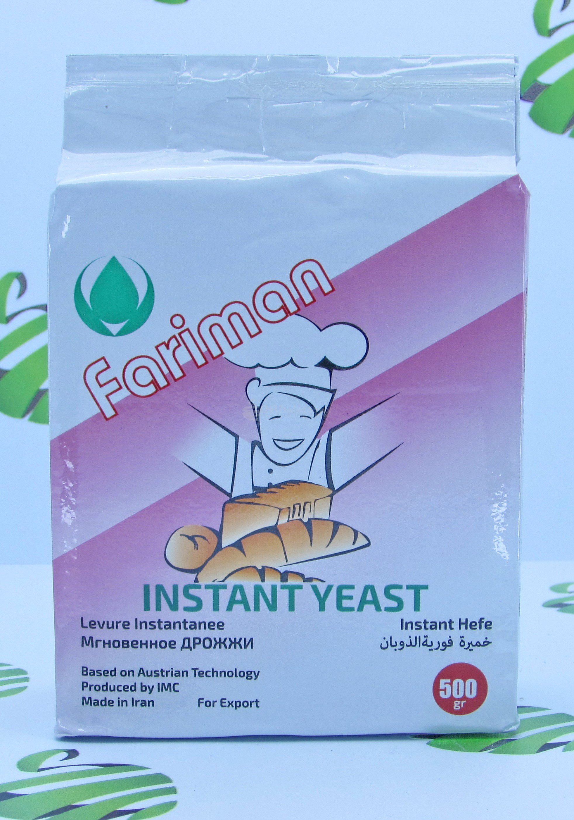 "Yeast ""Fariman"" 500gr"