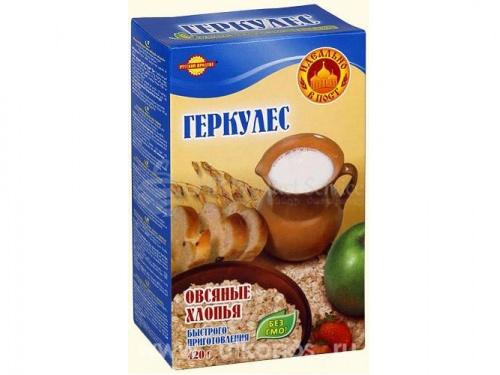 """Վարսակի Փաթիլներ """"Геркулес"""" 400գր"""