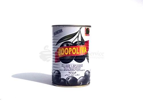Զեյթուն սև Coopoliva 0.225լ