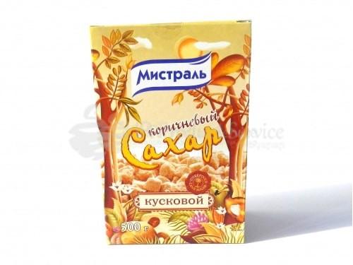 """Եղեգնյա շաքար """"Միստրալ"""" 500գր"""