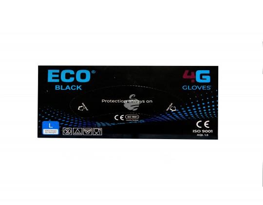 """Ձեռնոց """"Eco"""" նիտրիլային Սև 100հտ"""