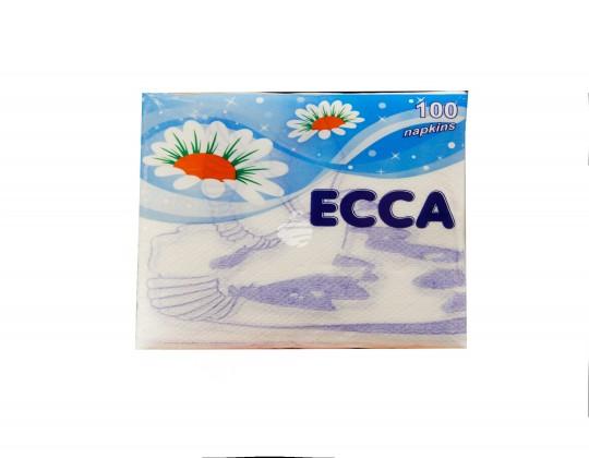 """Անձեռոցիկ """"ECCA"""" 100հտ"""